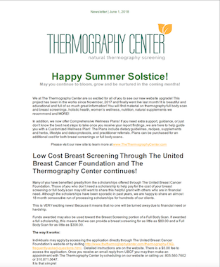 Thermography Newsletter July 2018 thumb