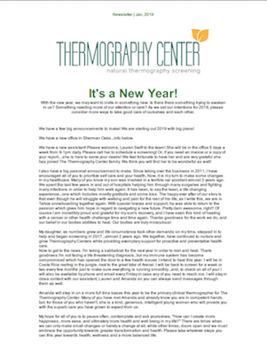 Thermography Newsletters January 2019 thumb